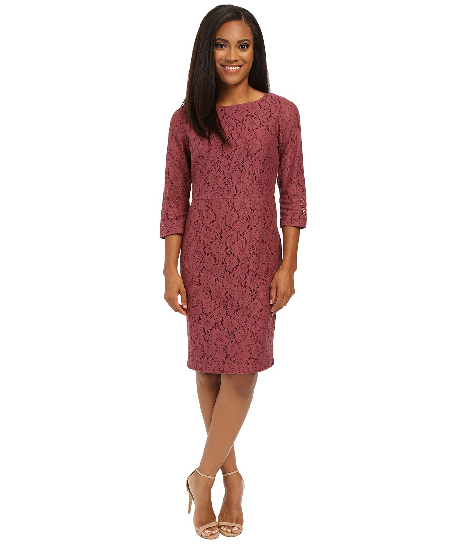 Pendleton - Petite Lace Dress (Crushed Berry Lace) Women