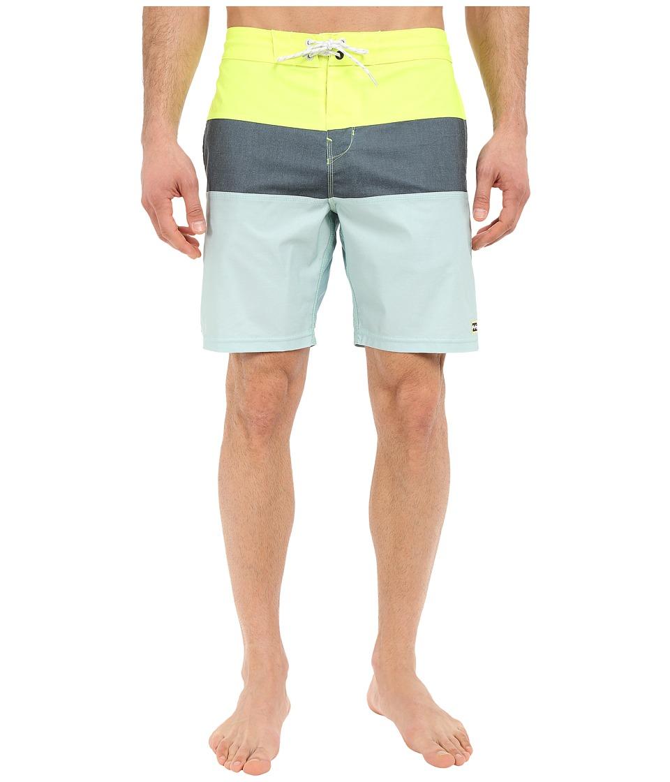 Billabong - Tribong Lo Tides 19 Boardshorts (Haze) Men's Swimwear