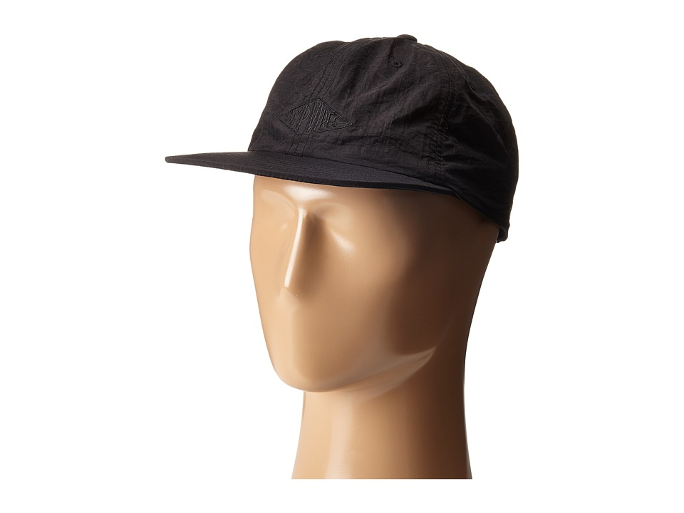 Poler - Camp Vibes Nylon Floppy (Black) Baseball Caps