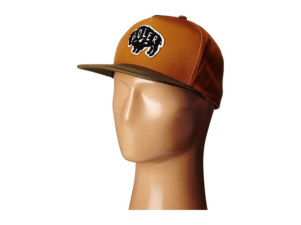 Poler - Buffalo Snapback (Almond) Caps