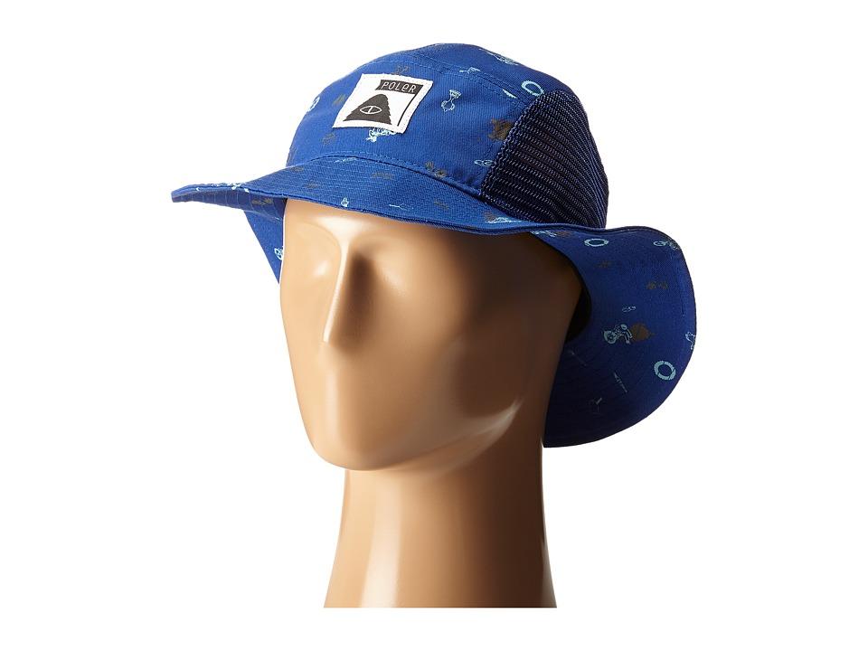 Poler - Lunchpail Bucket Hat (Daphne Wheelie Print) Caps