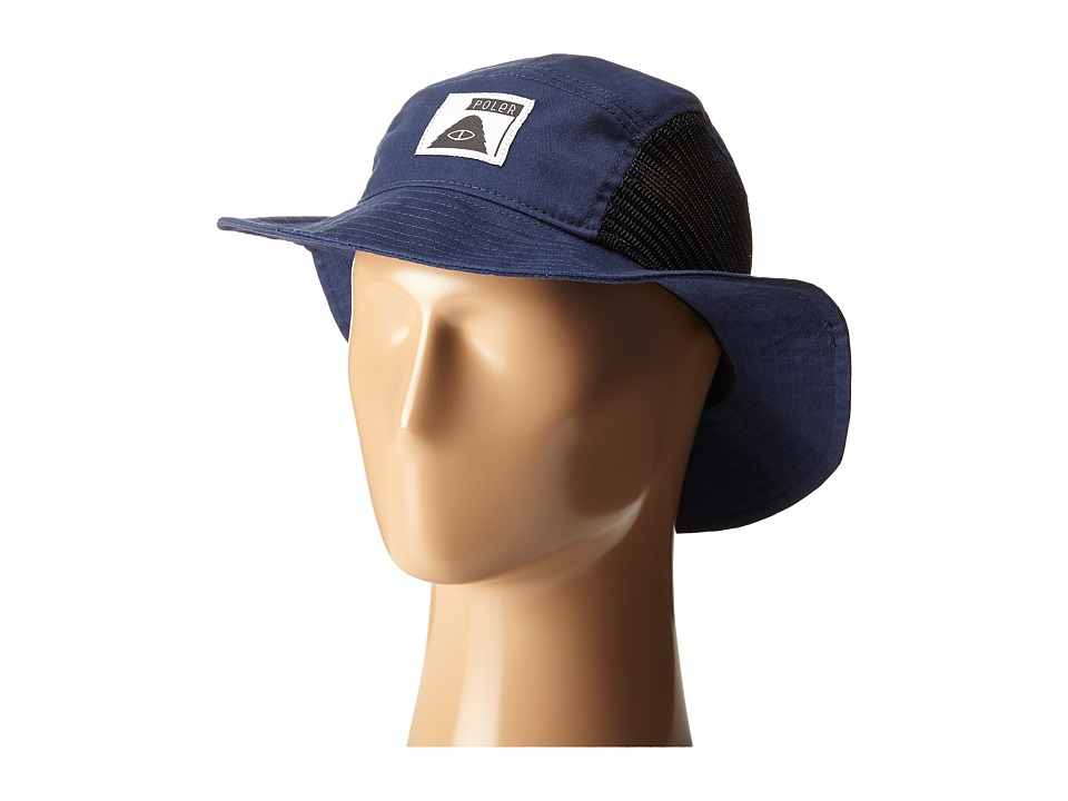 Poler - Lunchpail Bucket Hat (Blue Steel) Caps