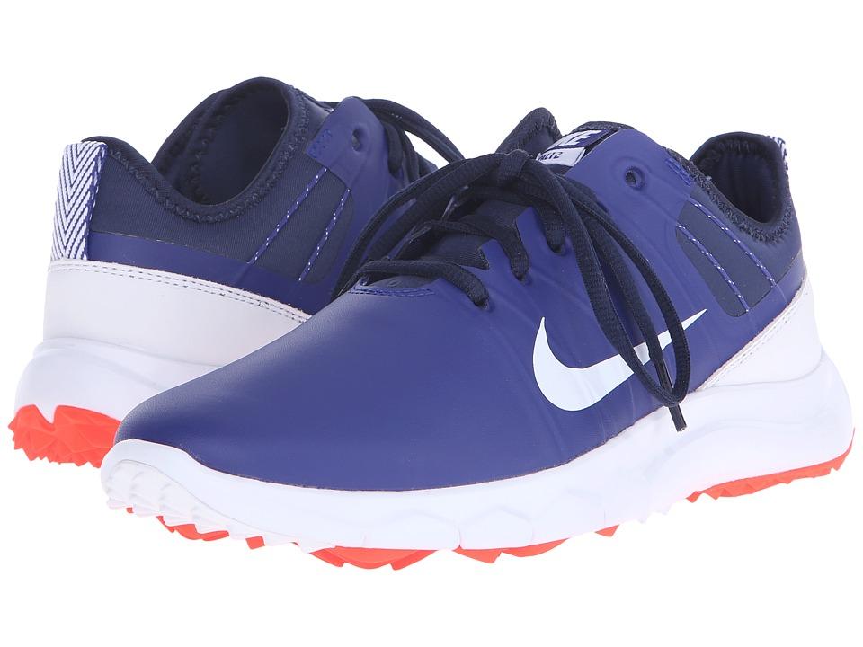 Nike Golf - FI Impact 2 (Deep Royal Blue/Midnight Navy/White) Women's Golf Shoes