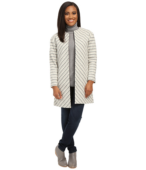 Pendleton - Petite Chevron Stripe Jacket (Novelty Multi Stripe) Women's Coat