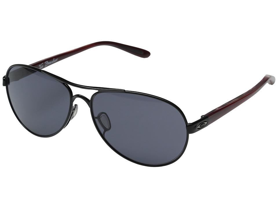 Oakley - Tie Breaker (Polished Black/Grey) Snow Goggles