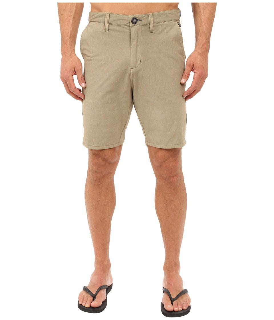 Billabong - New Order X 19 Hybrid Shorts (Khaki) Men's Shorts