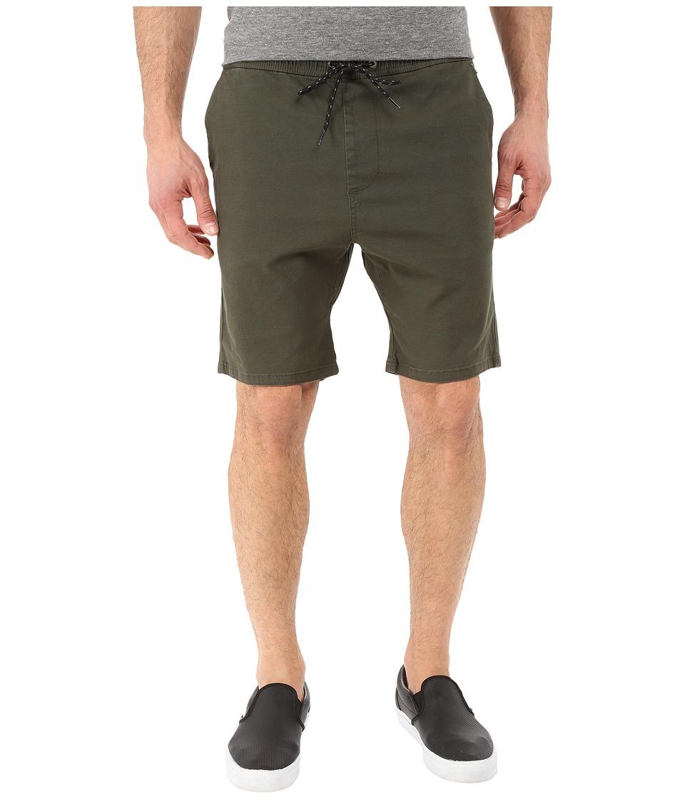 Billabong - New Order Elastic Shorts (Jungle) Men's Shorts