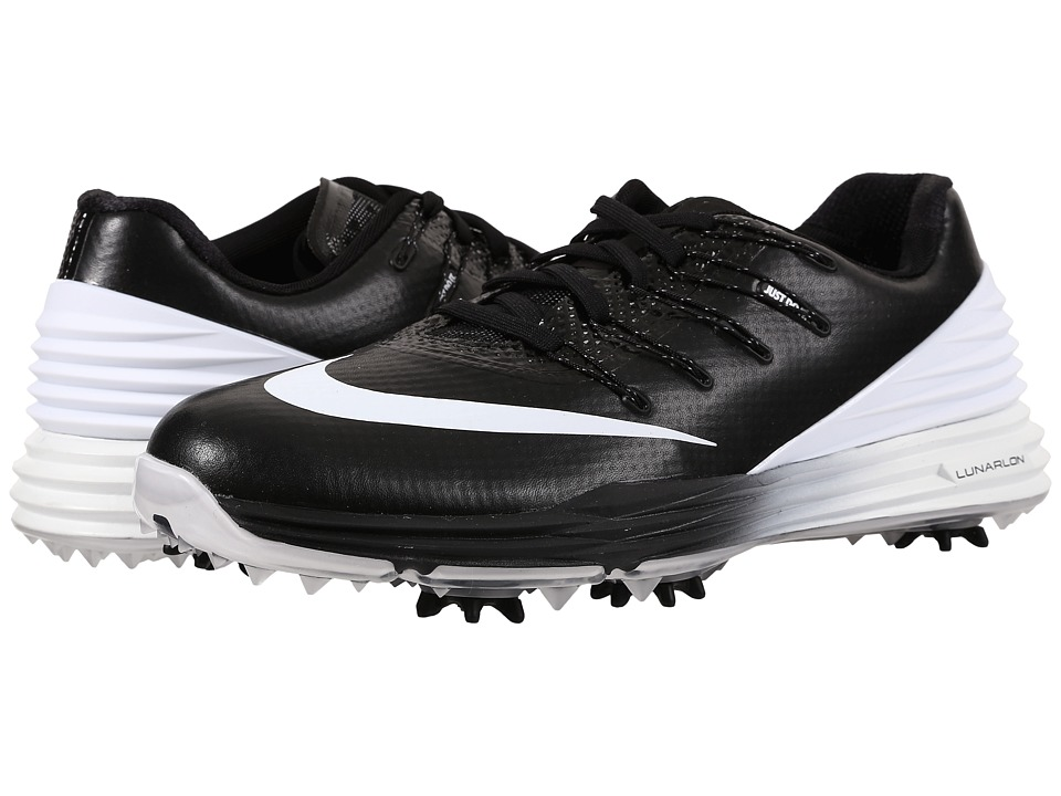 Nike Golf - Lunar Control 4 (Black/White/Wolf Grey) Women's Golf Shoes