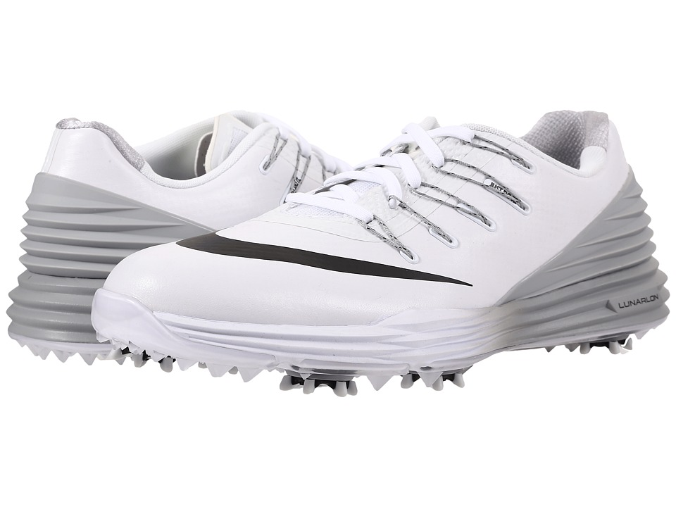Nike Golf - Lunar Control 4 (White/Black/Wolf Grey) Women...
