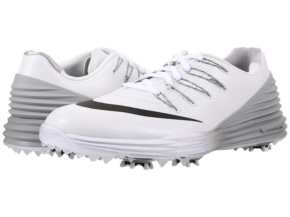 Nike Golf - Lunar Control 4 (White/Black/Wolf Grey) Women's Golf Shoes