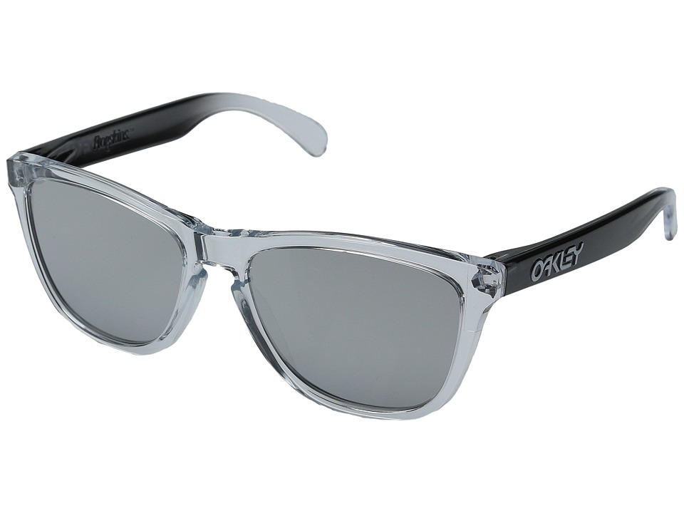 Oakley - Frogskins (Clear/Chrome Iridium) Sport Sunglasses