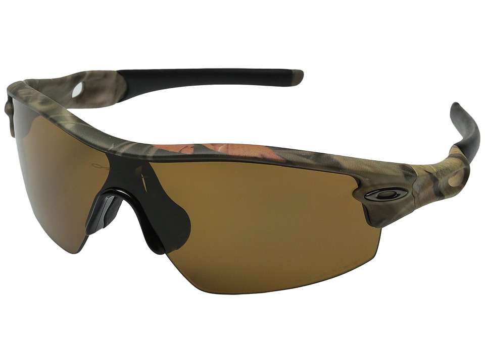 Oakley - Radar (Woodland Camouflage/Bronze Polarized) Sport Sunglasses