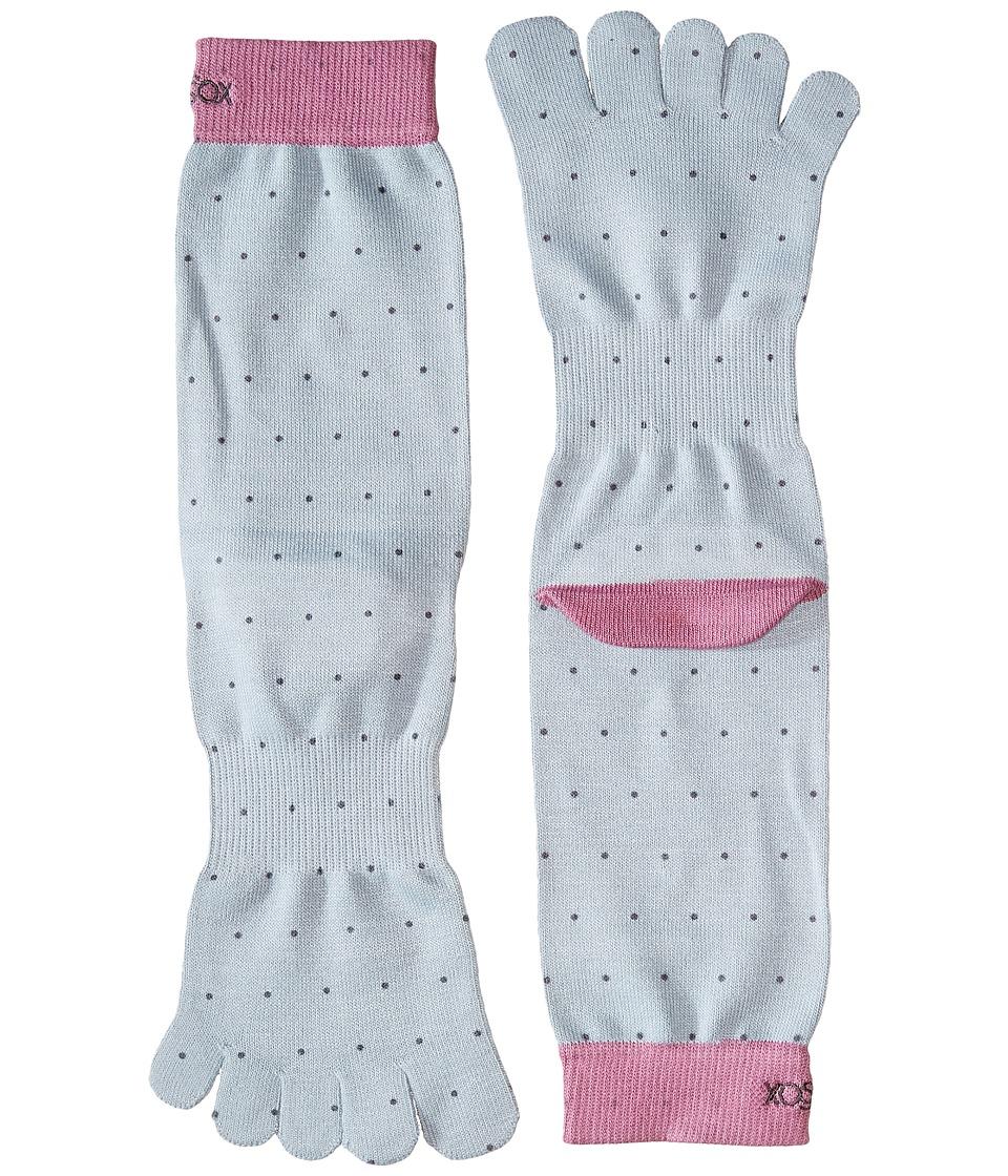 toesox - Casual Full Toe Crew (Polka) Women's Crew Cut Socks Shoes