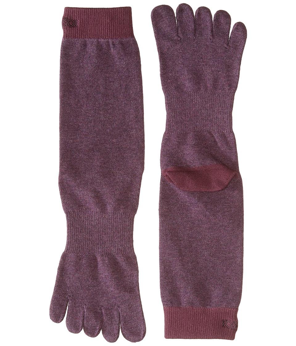 toesox - Casual Full Toe Crew (Dusk) Women's Crew Cut Socks Shoes