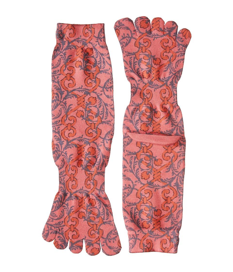 toesox - Casual Full Toe Crew (Viva) Women's Crew Cut Socks Shoes