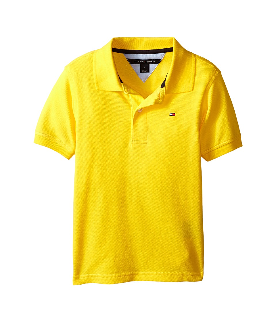 Tommy Hilfiger Kids - Ivy Polo (Toddler/Little Kid) (Rubber Ducky) Boy's Short Sleeve Knit