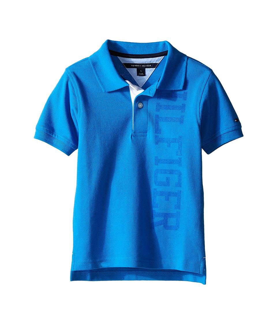 Tommy Hilfiger Kids - Sydney Polo (Toddler/Little Kid) (Splash) Boy's Clothing