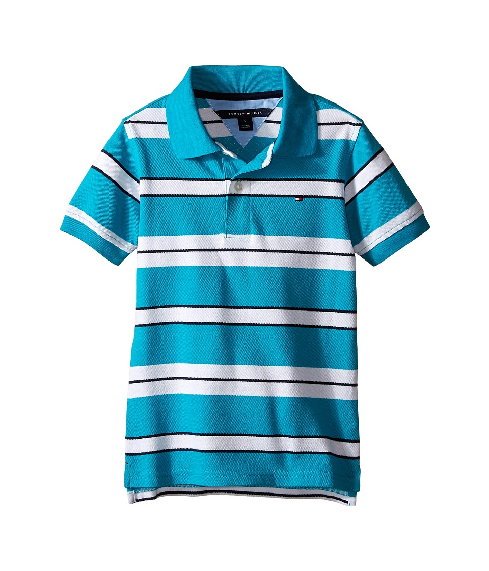 Tommy Hilfiger Kids - Fred Polo (Toddler/Little Kid) (Sprinkler) Boy's Clothing
