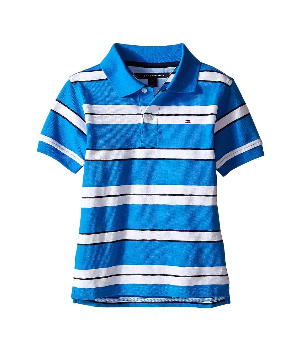 Tommy Hilfiger Kids - Fred Polo (Toddler/Little Kid) (Splash) Boy's Clothing