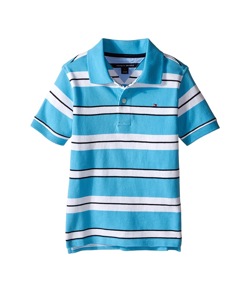 Tommy Hilfiger Kids - Fred Polo (Toddler/Little Kid) (Zen Blue) Boy's Clothing