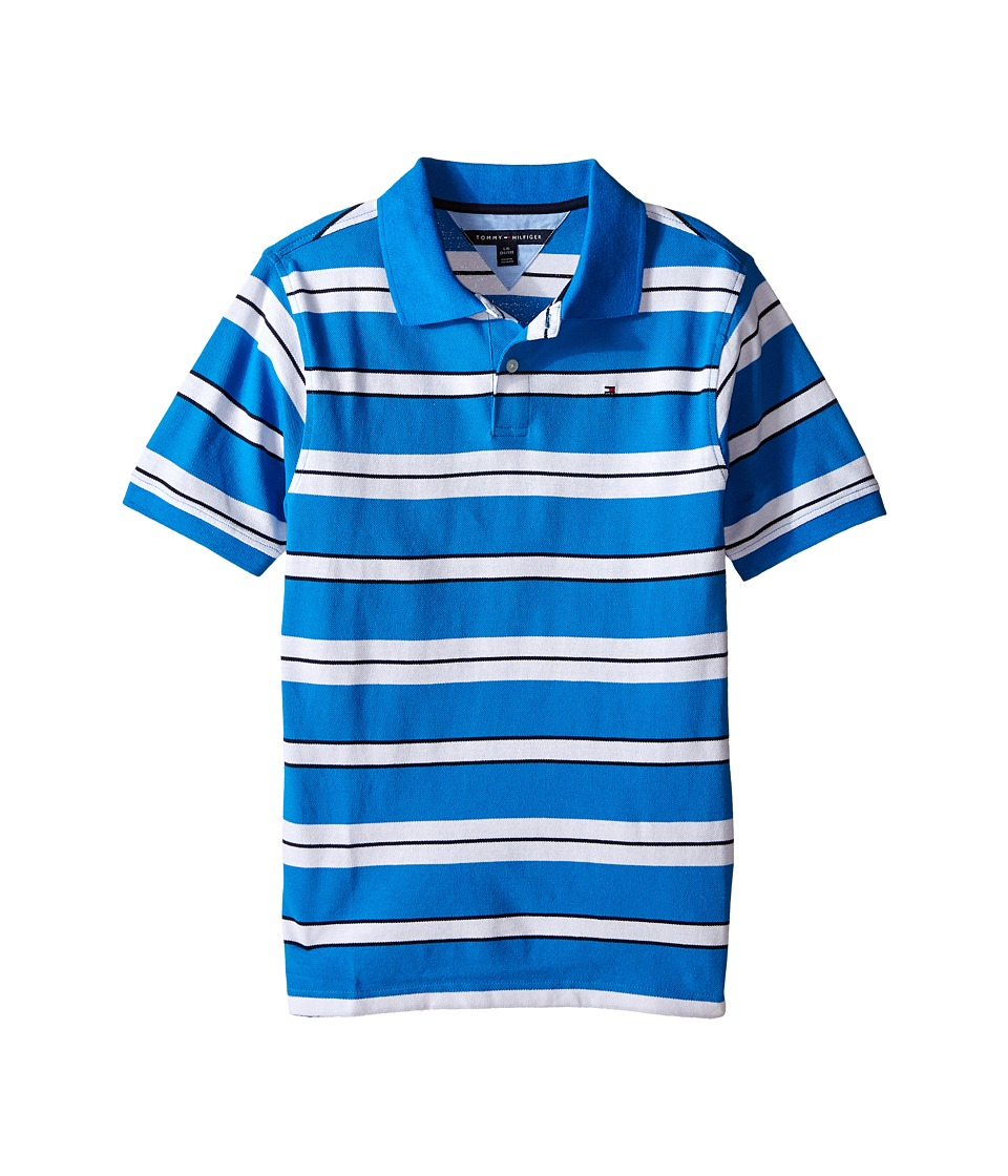 Tommy Hilfiger Kids - Fred Polo (Big Kid) (Splash) Boy's Clothing