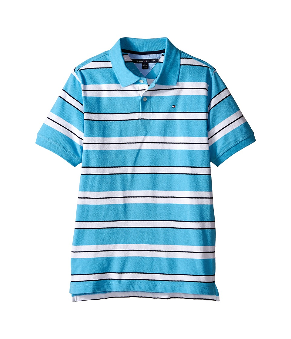 Tommy Hilfiger Kids - Fred Polo (Big Kid) (Zen Blue) Boy's Clothing