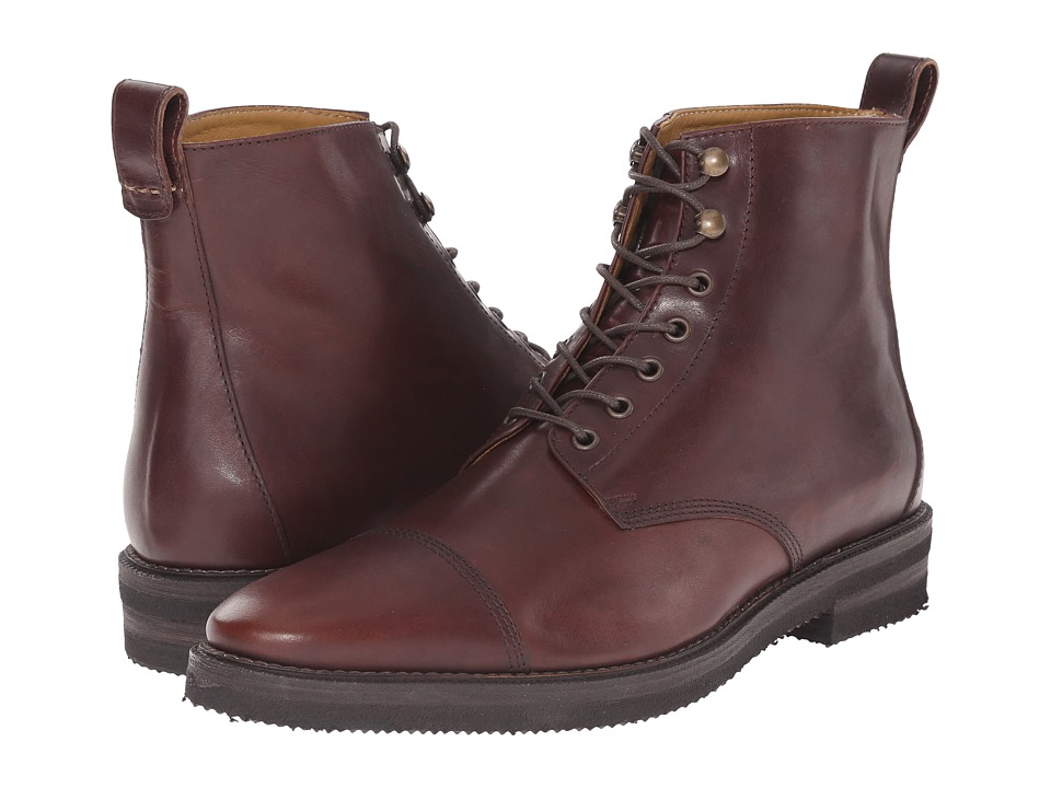 Billy Reid - Kieran Boot (Brown) Men's Lace-up Boots