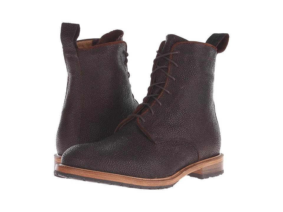 Billy Reid - Anderson Boot (Dark Brown) Men's Dress Lace-up Boots