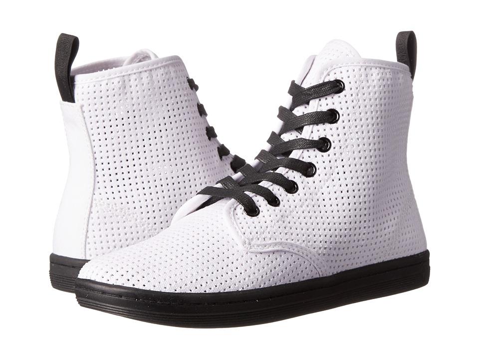 Dr. Martens - Shoreditch (White) Women's Lace-up Boots