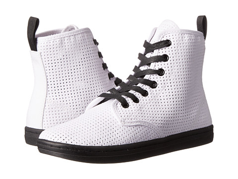Dr. Martens - Shoreditch (White) Women's Lace-up Boots