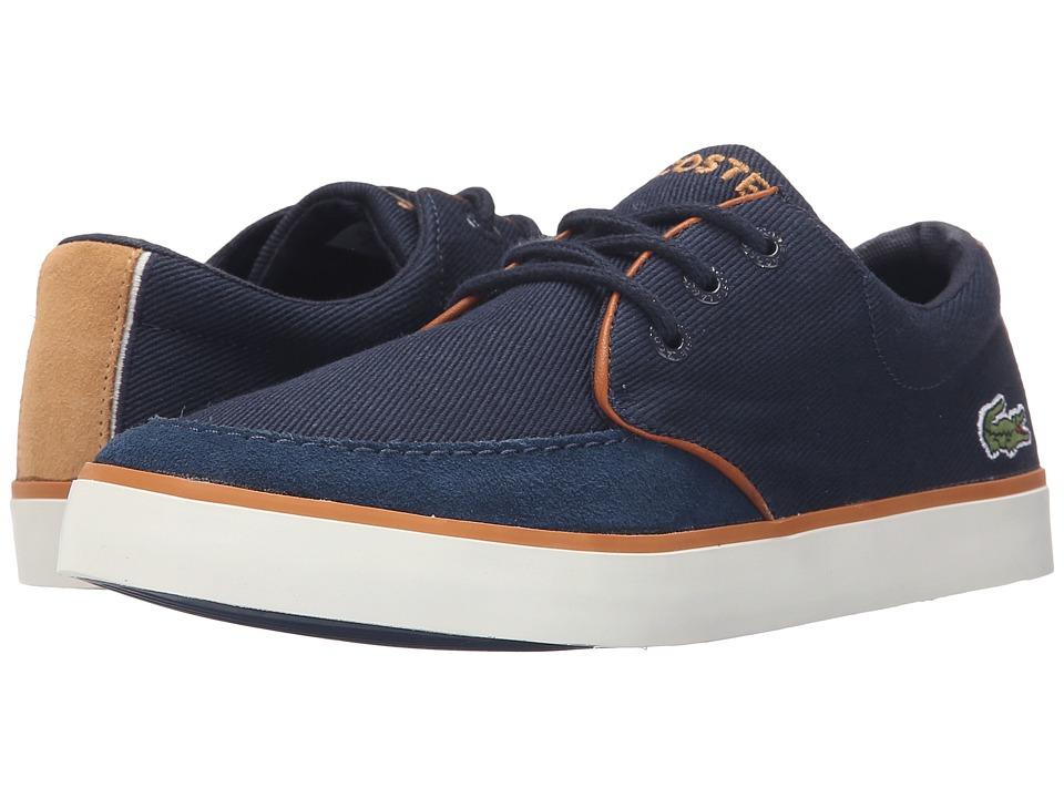 Lacoste Kids - Sevrin 116 1 SP16 (Little Kid/Big Kid) (Navy) Boy's Shoes