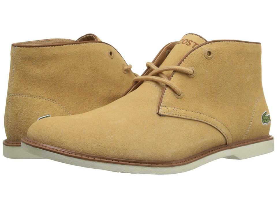 Lacoste Kids - Sherbrooke 116 1 SP16 (Little Kid/Big Kid) (Light Tan) Boy's Shoes