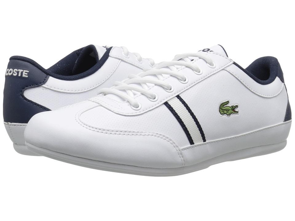 Lacoste Kids - Misano 116 1 SP16 (Little Kid/Big Kid) (White) Kid's Shoes