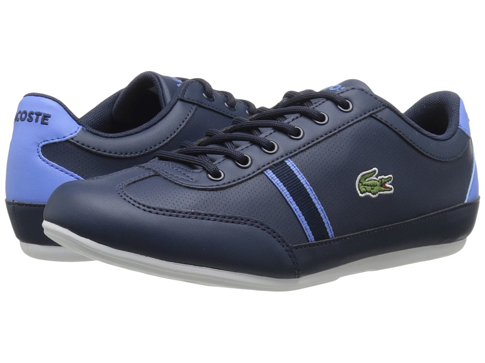 Lacoste Kids - Misano 116 1 SP16 (Little Kid/Big Kid) (Navy) Kid's Shoes