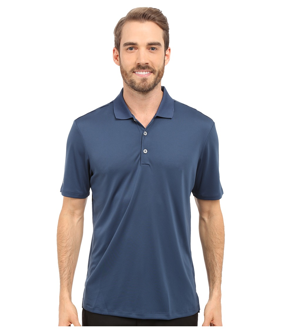 adidas Golf - Performance Polo (Mineral Blue) Men's Clothing