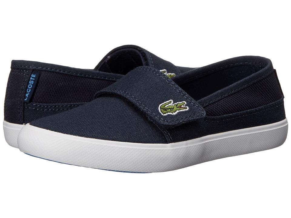 Lacoste Kids - Marice 116 1 SP16 (Little Kid) (Navy/Blue) Kid's Shoes