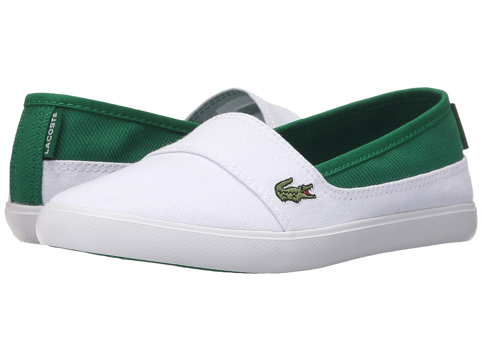 Lacoste Kids - Marice 116 1 SP16 (Big Kid) (White/Green) Kid's Shoes