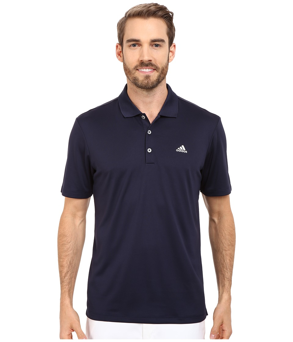 adidas Golf - Branded Performance Polo (Navy) Men's Short Sleeve Pullover