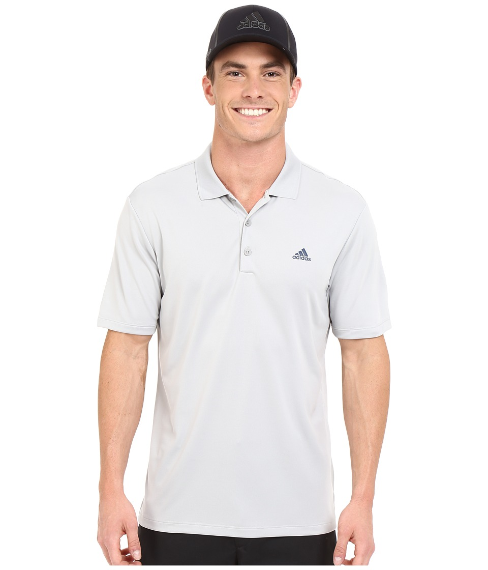 adidas Golf - Branded Performance Polo (Stone) Men's Short Sleeve Pullover