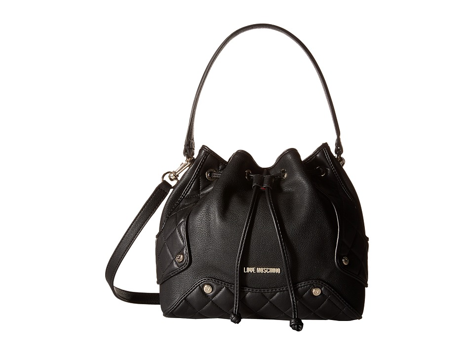 LOVE Moschino - Small Duffel Bag (Black) Duffel Bags