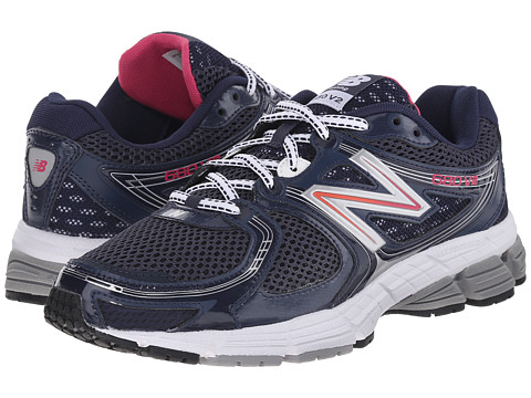 New Balance - Speed Famous (Navy/Pink) Women's Shoes