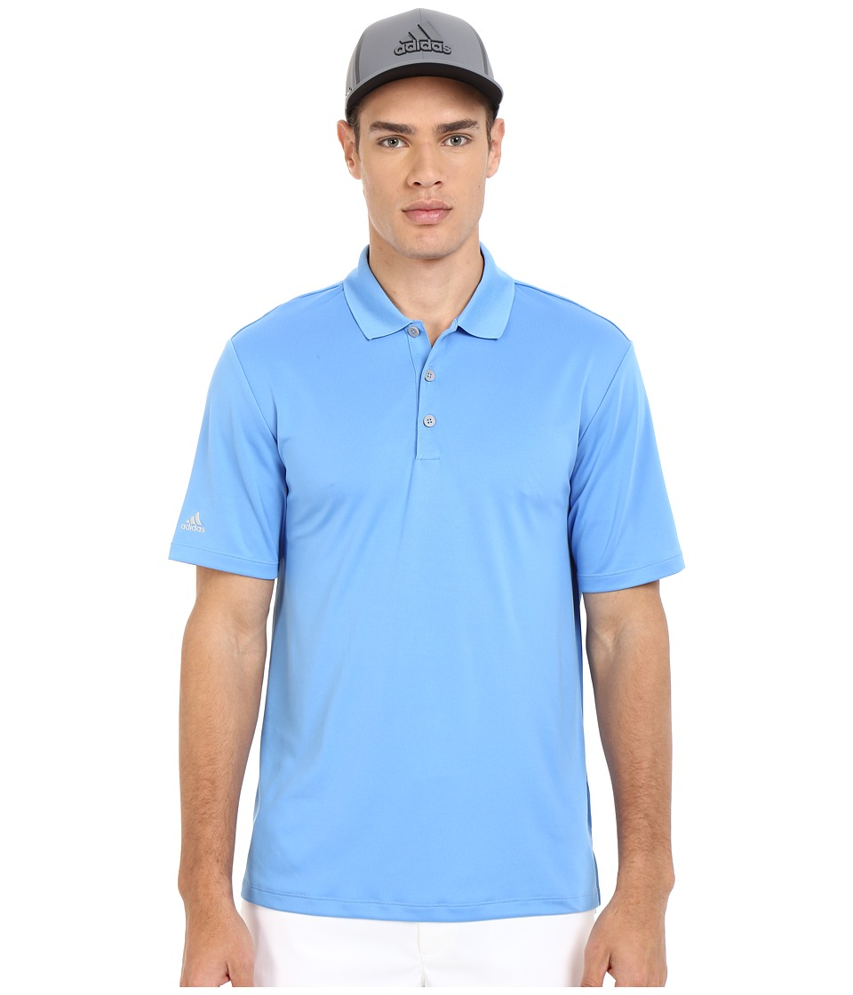adidas Golf - Performance Polo (Lucky Blue) Men's Clothing