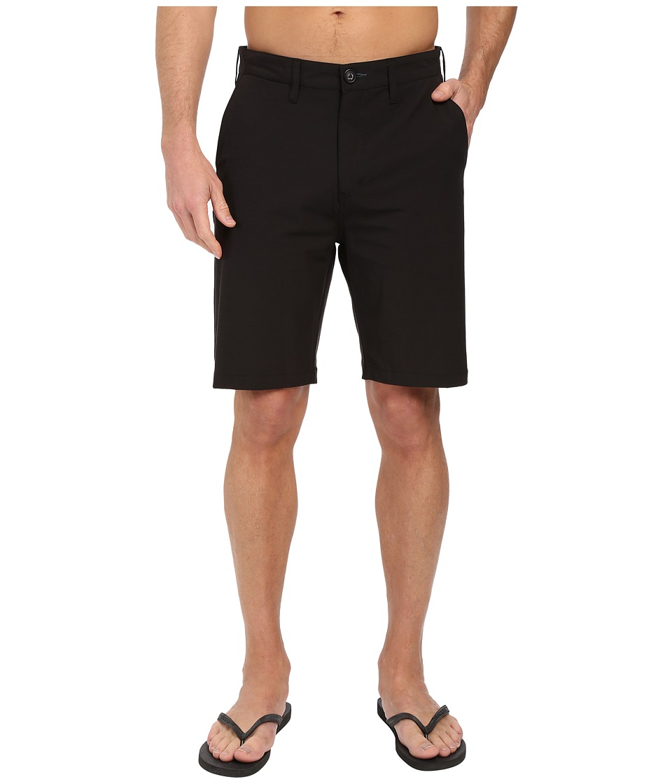 Billabong - Crossfire X Hybrid Shorts (Black) Men's Shorts