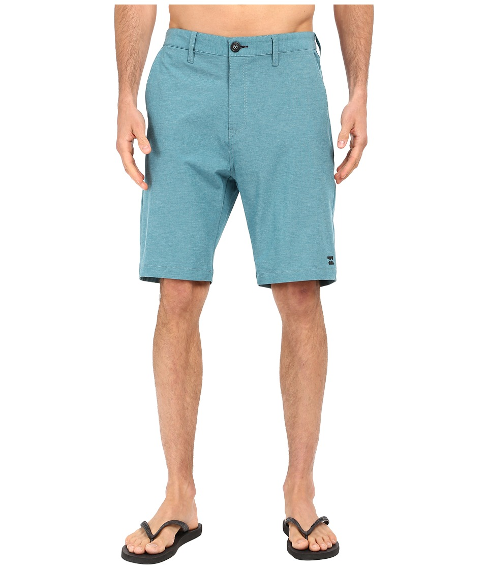 Billabong - Crossfire X Hybrid Shorts (Ocean) Men's Shorts