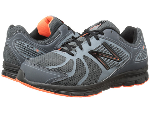 New Balance - M690v3 (Grey/Black) Men's Shoes