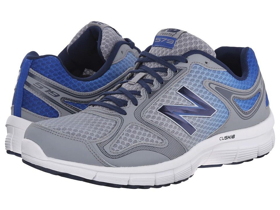 New Balance - Speed 579 (Grey/Blue) Men's Shoes