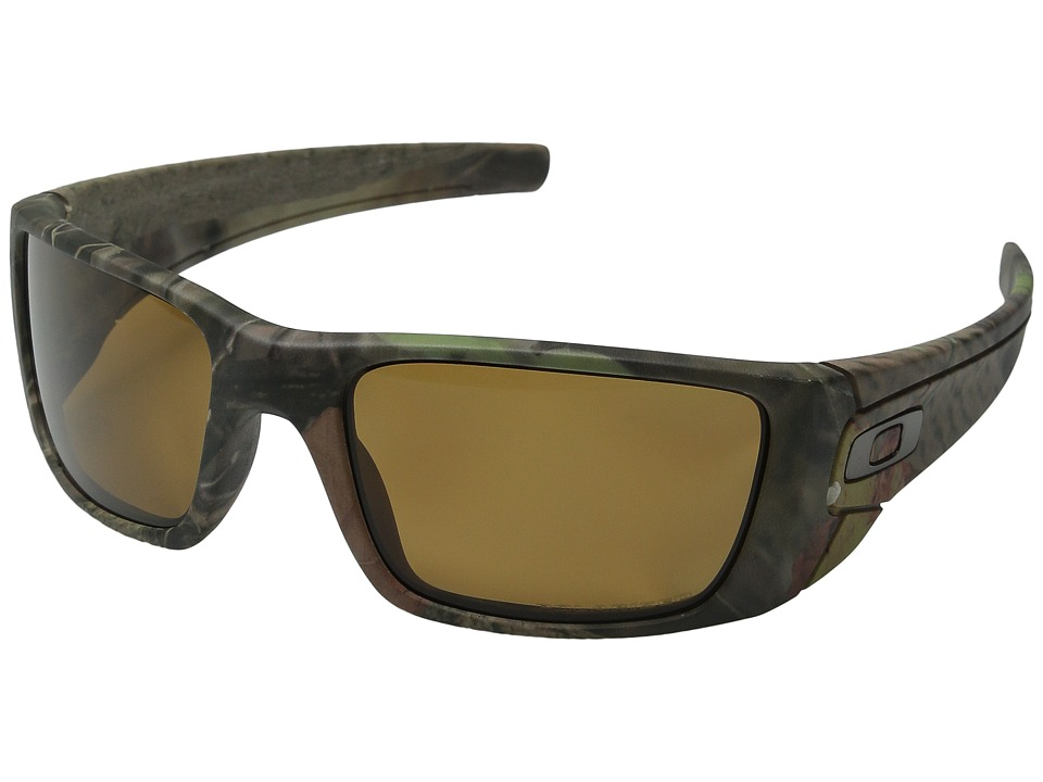 Oakley - Fuel Cell (Woodland Camouflage/Bronze Polarized) Polarized Sport Sunglasses