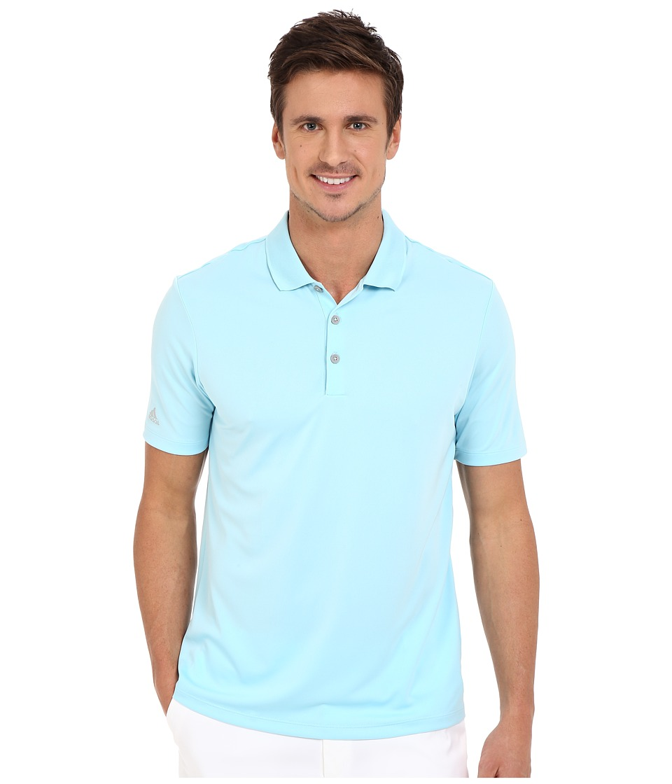 adidas Golf - Performance Polo (Frost Blue) Men's Clothing