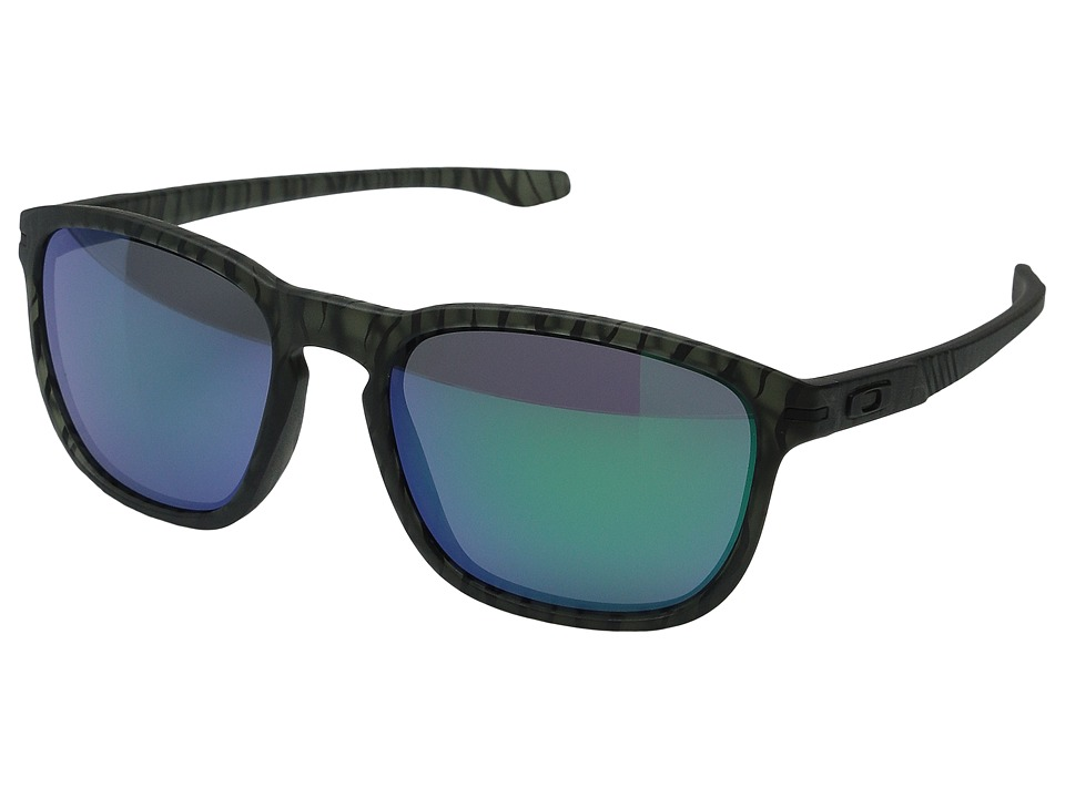 Oakley - Enduro (Matte Olive Ink Urban Jungle/Jade Iridium) Fashion Sunglasses