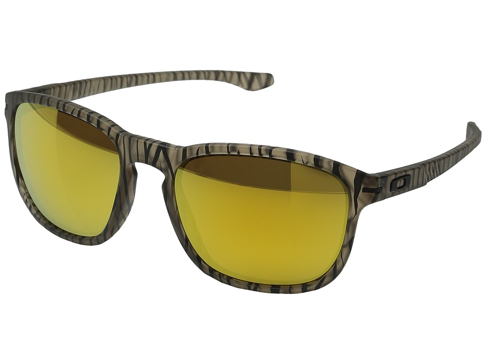 Oakley - Enduro (Matte Sepia Urban Jungle/24K Iridium) Fashion Sunglasses